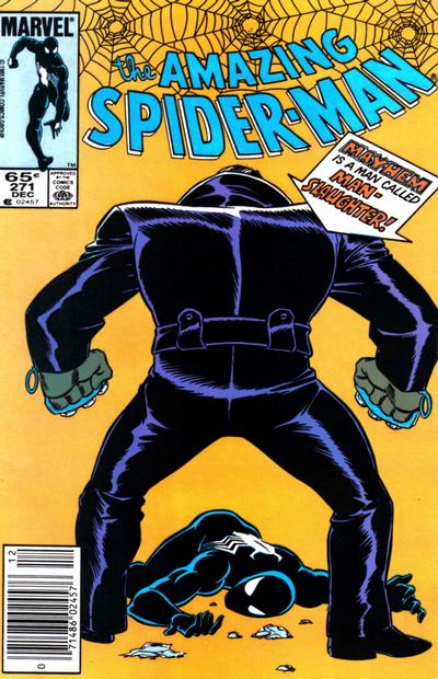 Cover for The Amazing Spider-Man (Marvel, 1963 series) #271 [Direct Edition]