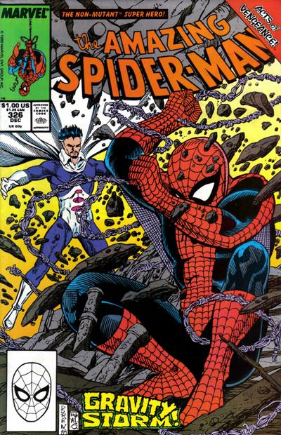 Cover for The Amazing Spider-Man (Marvel, 1963 series) #326 [Newsstand Edition]