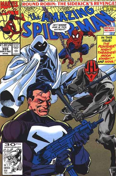 Cover for The Amazing Spider-Man (1963 series) #355