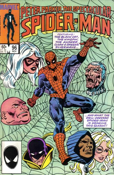 Cover for The Spectacular Spider-Man (Marvel, 1976 series) #96 [Newsstand Edition]