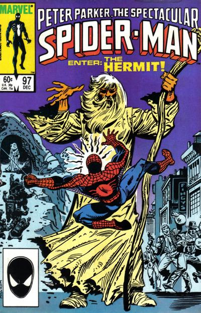 Cover for The Spectacular Spider-Man (Marvel, 1976 series) #97 [Direct Edition]