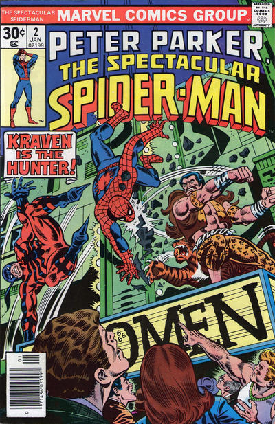 Cover for The Spectacular Spider-Man (Marvel, 1976 series) #2