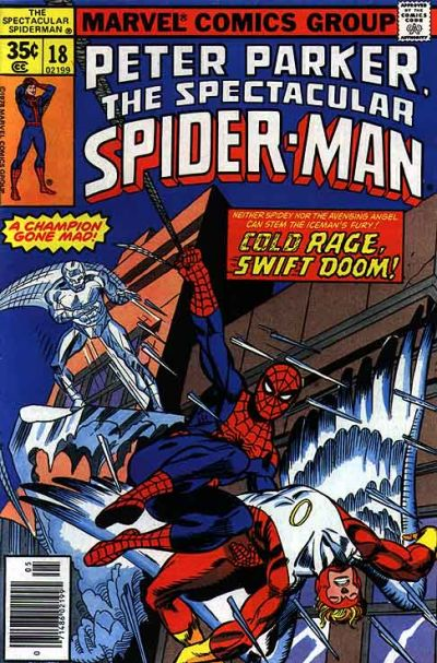 Cover for The Spectacular Spider-Man (1976 series) #18