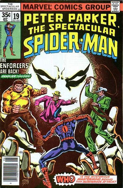Cover for The Spectacular Spider-Man (Marvel, 1976 series) #19