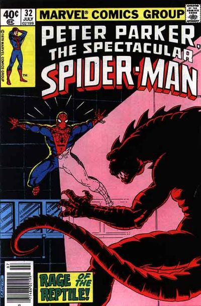 Cover for The Spectacular Spider-Man (1976 series) #32 [direct]
