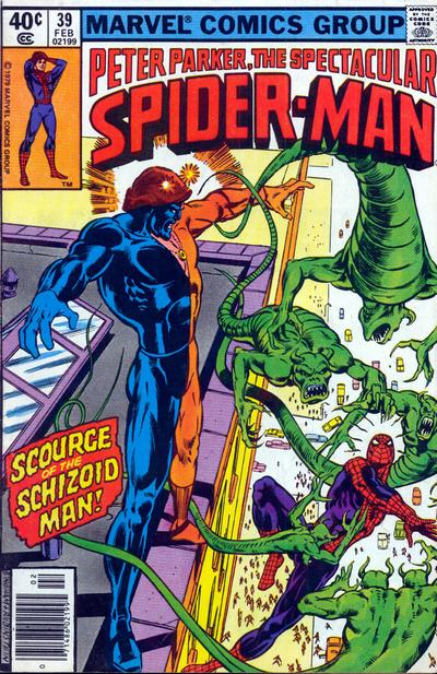 Cover for The Spectacular Spider-Man (Marvel, 1976 series) #39