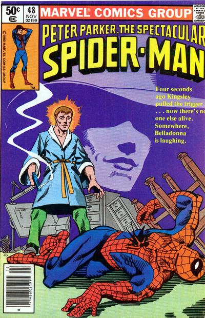 Cover for The Spectacular Spider-Man (Marvel, 1976 series) #48