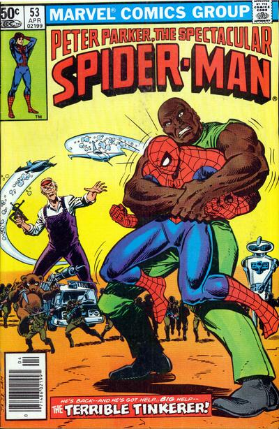 Cover for The Spectacular Spider-Man (1976 series) #53 [Direct Sales Edition]