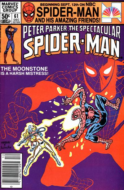 Cover for The Spectacular Spider-Man (1976 series) #61