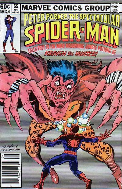 Cover for The Spectacular Spider-Man (Marvel, 1976 series) #65