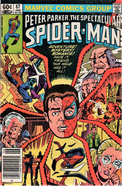 Cover for The Spectacular Spider-Man (1976 series) #67