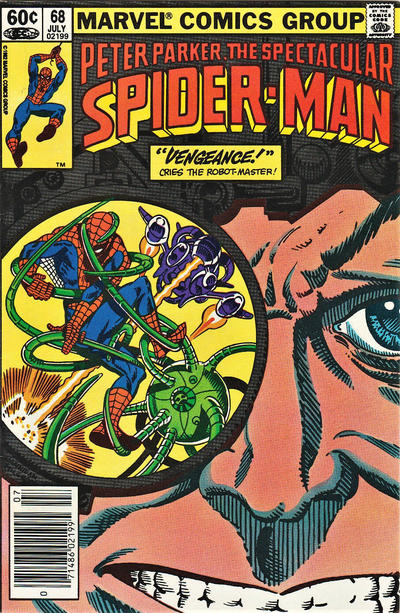Cover for The Spectacular Spider-Man (Marvel, 1976 series) #68