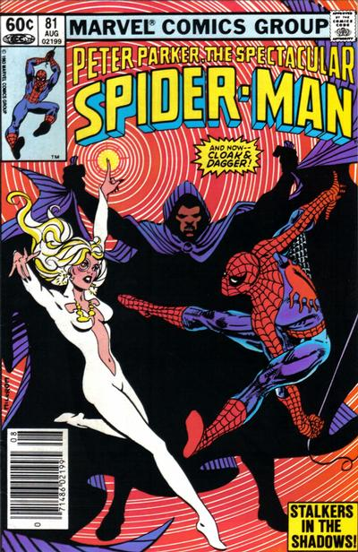 Cover for The Spectacular Spider-Man (Marvel, 1976 series) #81 [newsstand]