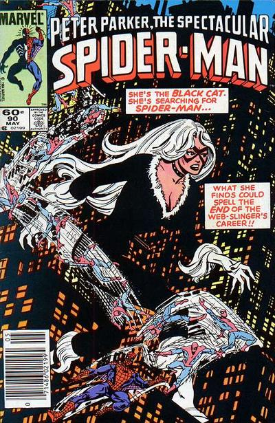 Cover for The Spectacular Spider-Man (1976 series) #90 [newsstand]