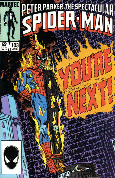 Cover for The Spectacular Spider-Man (Marvel, 1976 series) #103 [direct]