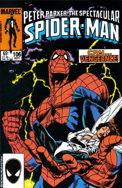 Cover for The Spectacular Spider-Man (Marvel, 1976 series) #106 [direct]