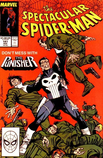 Cover for The Spectacular Spider-Man (Marvel, 1976 series) #141