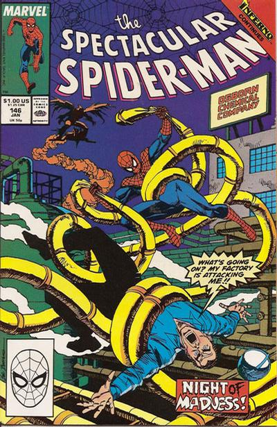 Cover for The Spectacular Spider-Man (Marvel, 1976 series) #146