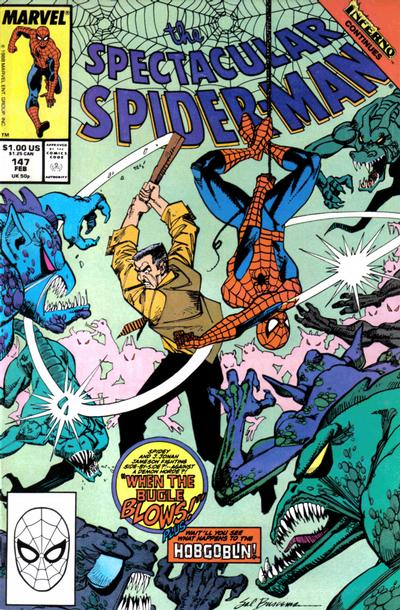 Cover for The Spectacular Spider-Man (Marvel, 1976 series) #147