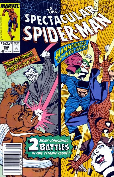 Cover for The Spectacular Spider-Man (Marvel, 1976 series) #153 [direct]