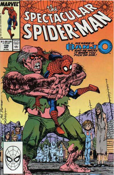 Cover for The Spectacular Spider-Man (Marvel, 1976 series) #156 [direct]