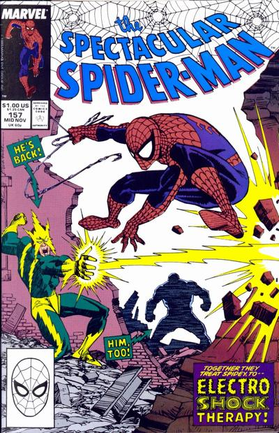 Cover for The Spectacular Spider-Man (Marvel, 1976 series) #157
