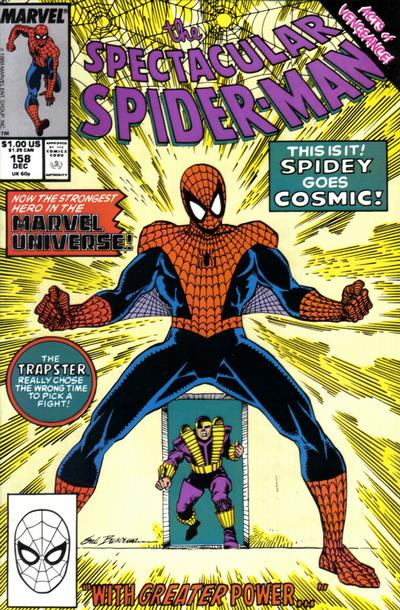Cover for The Spectacular Spider-Man (Marvel, 1976 series) #158