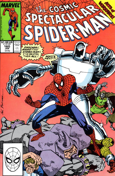 Cover for The Spectacular Spider-Man (1976 series) #160