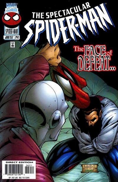 Cover for The Spectacular Spider-Man (Marvel, 1976 series) #242