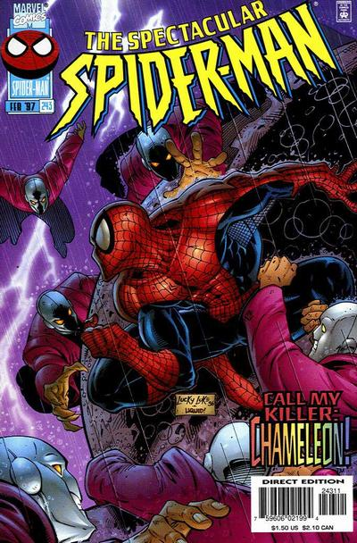 Cover for The Spectacular Spider-Man (Marvel, 1976 series) #243