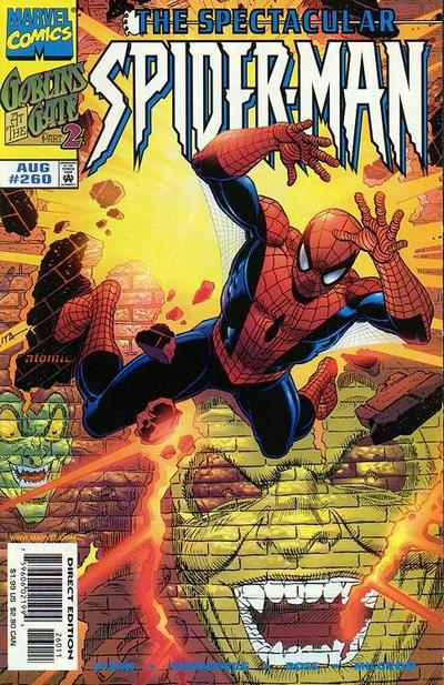 Cover for The Spectacular Spider-Man (1976 series) #260