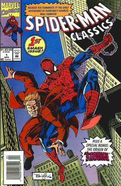 Cover for Spider-Man Classics (Marvel, 1993 series) #1