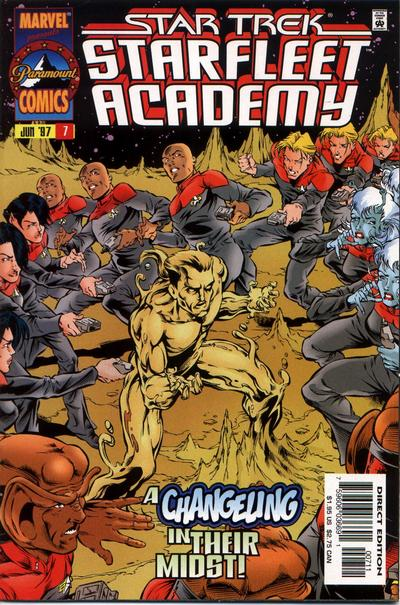 Cover for Star Trek: Starfleet Academy (1996 series) #7
