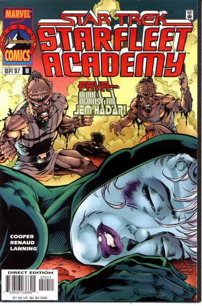 Cover for Star Trek: Starfleet Academy (1996 series) #10