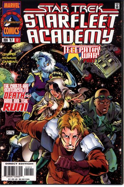 Cover for Star Trek: Starfleet Academy (Marvel, 1996 series) #12