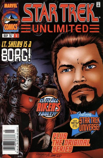 Cover for Star Trek Unlimited (1996 series) #5