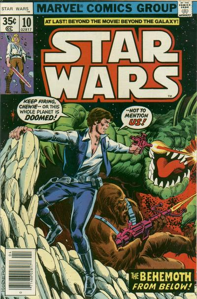 Cover for Star Wars (Marvel, 1977 series) #10 [Newsstand]
