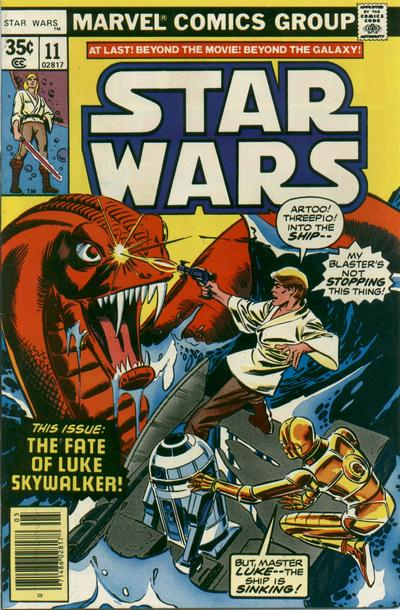 Cover for Star Wars (Marvel, 1977 series) #11 [Newsstand Edition]