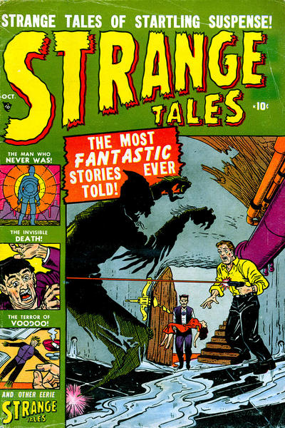 Cover for Strange Tales (Marvel, 1951 series) #3