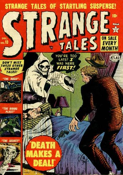 Cover for Strange Tales (1951 series) #13