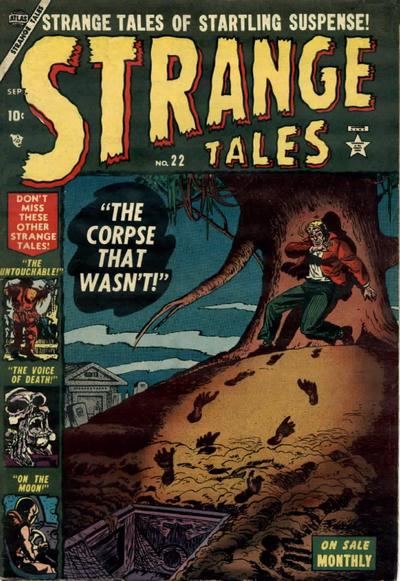 Cover for Strange Tales (1951 series) #22