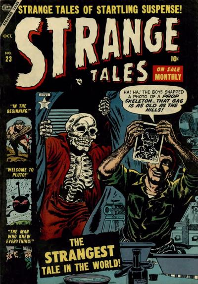 Cover for Strange Tales (1951 series) #23
