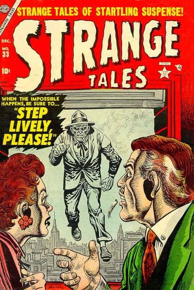 Cover for Strange Tales (Marvel, 1951 series) #33