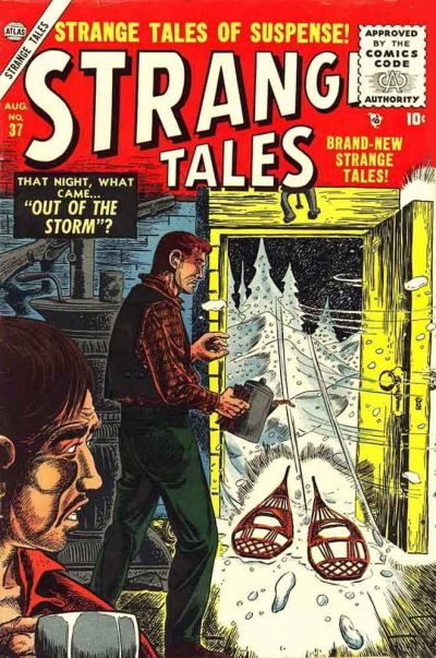 Cover for Strange Tales (1951 series) #37