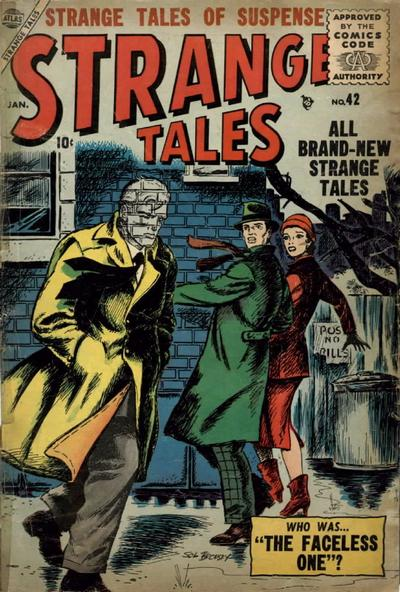 Cover for Strange Tales (Marvel, 1951 series) #42
