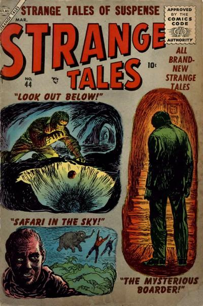Cover for Strange Tales (Marvel, 1951 series) #44