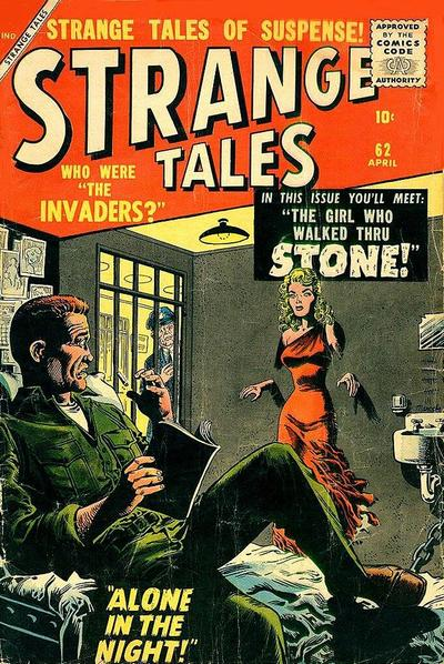 Cover for Strange Tales (1951 series) #62