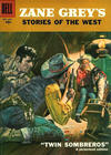 Cover for Zane Grey's Stories of the West (Dell, 1955 series) #35