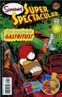 Cover Thumbnail for Bongo Comics Presents Simpsons Super Spectacular (Bongo, 2005 series) #3