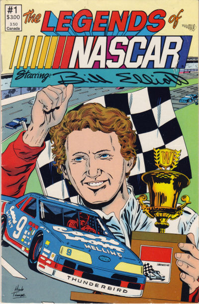 Cover for The Legends of NASCAR (Vortex, 1991 series) #1